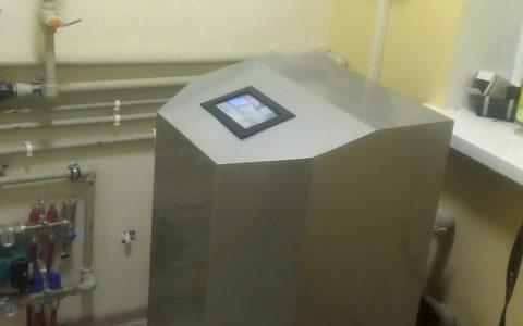 Тепловой насос грунт-вода 10 Квт.