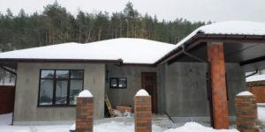 Будинок в Гнідині з тепловим насосом