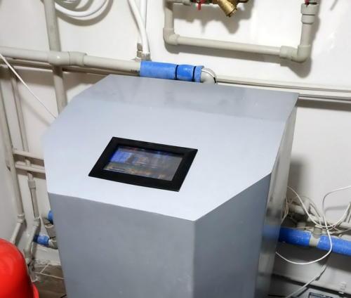Тепловой насос системы вода-вода в доме