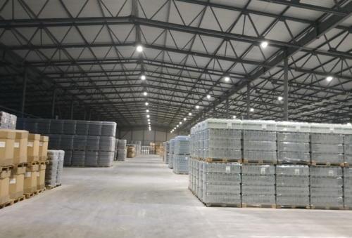 Логистический комплекс с промышленными тепловыми насосами Geosun