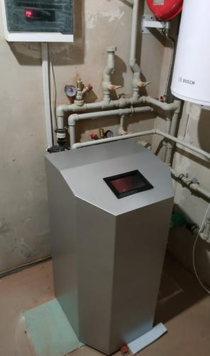 Встановлений тепловий насос Geosun