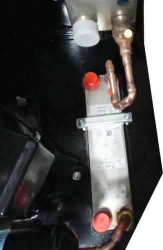 Переохладитель в тепловом насосе GeoSun GS-16